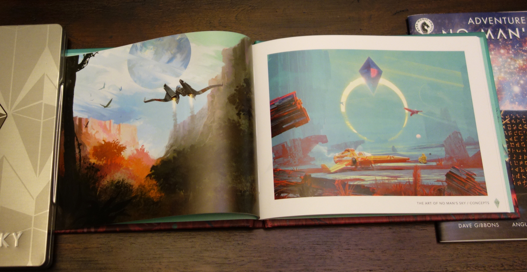 'No Man's Sky - Limited Edition PS4 art book