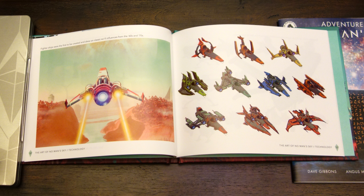 'No Man's Sky - Limited Edition PS4 art book concept